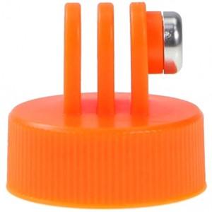Крепление на горлышко бутылки (Оранжевое) GoPro, Sjcam, Xiaomi yi