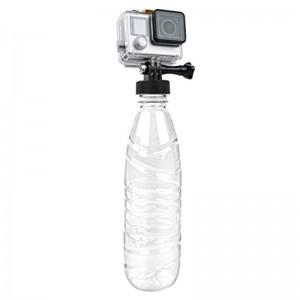 Крепление на горлышко бутылки (Чёрное) GoPro, Sjcam, Xiaomi yi