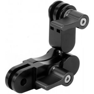 Удлинитель с шарниром 360 градусов Алюминиевый (Черный) GoPro, Sjcam, Xiaomi yi
