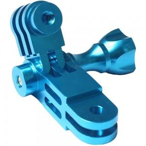Комплект удлинителей 90 градусов 50/30мм. Алюминиевые (Синий)