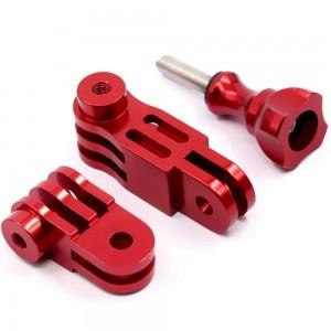 Комплект удлинителей 90 градусов 50/30мм. Алюминиевые (Красный)