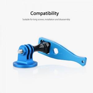 Ключ Алюминиевый для Винта экшн-камеры GoPro, Sjcam, Xiaomi yi (Синий)