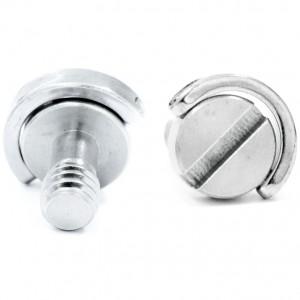 Винт с D-кольцом и резьбой 1/4 дюйма Стальной