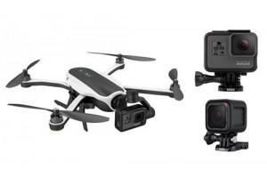 GoPro представила свой первый квадрокоптер GoPro Karma Dron, камеры Hero 5 Black и Hero 5 Session